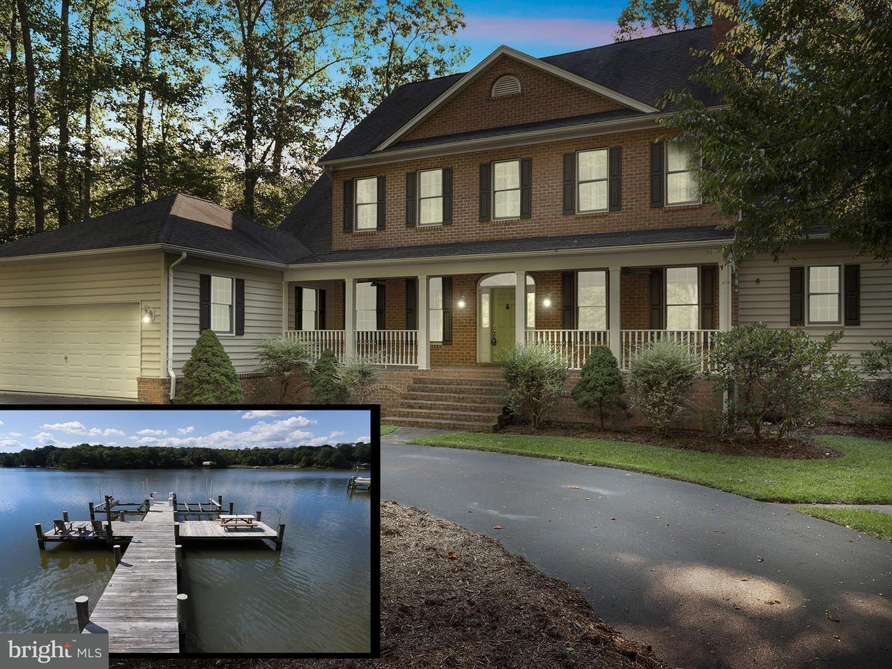 Casa Unifamiliar por un Venta en 650 Tidehead Way 650 Tidehead Way Lusby, Maryland 20657 Estados Unidos