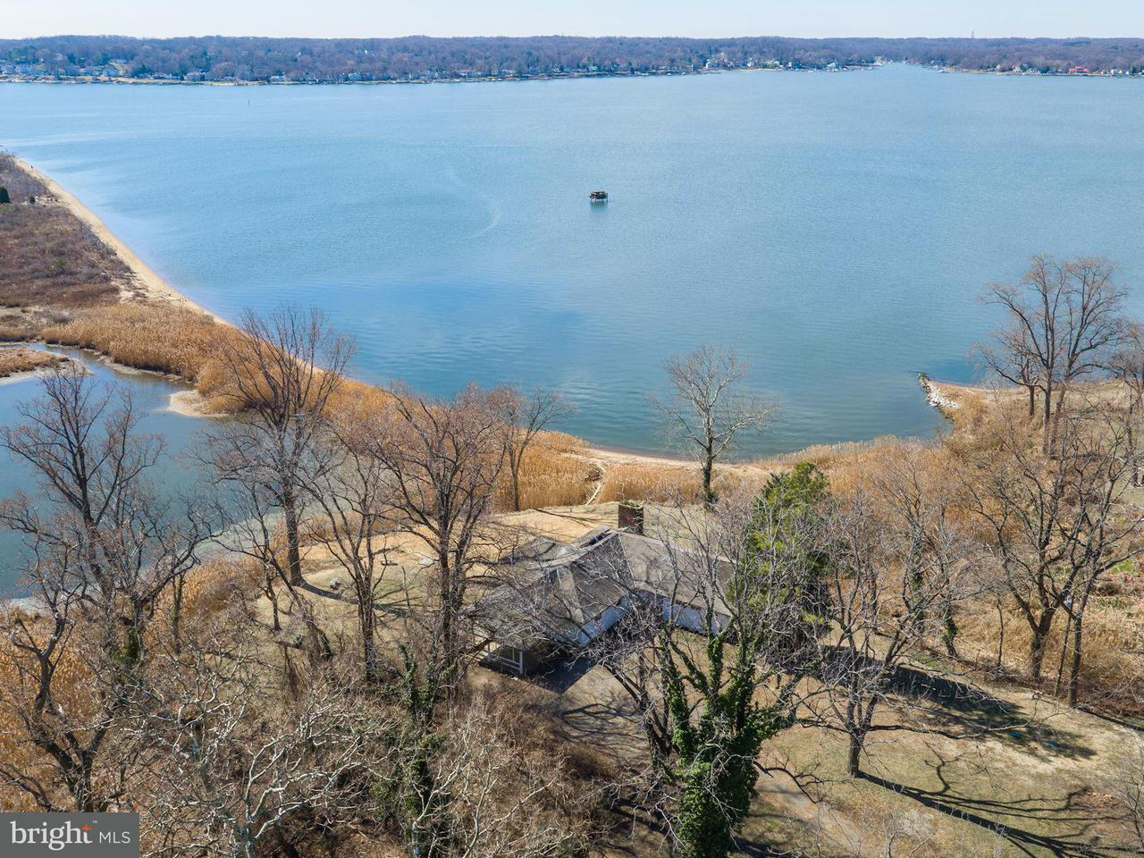 Single Family Home for Sale at 766 Skywater Road 766 Skywater Road Gibson Island, Maryland 21056 United States