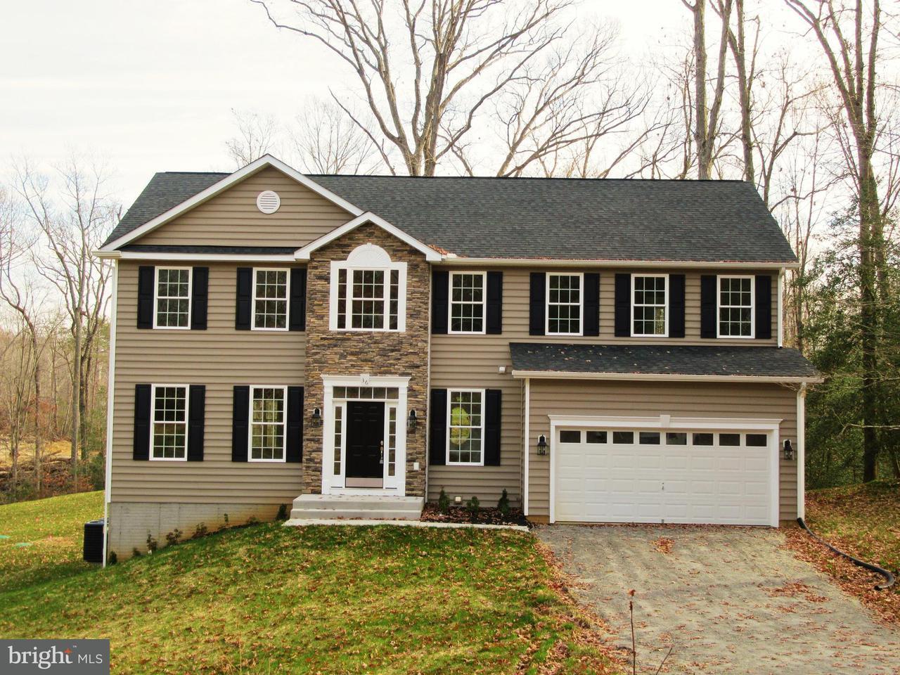 獨棟家庭住宅 為 出售 在 36 Hidden Springs Lane 36 Hidden Springs Lane Stafford, 弗吉尼亞州 22554 美國