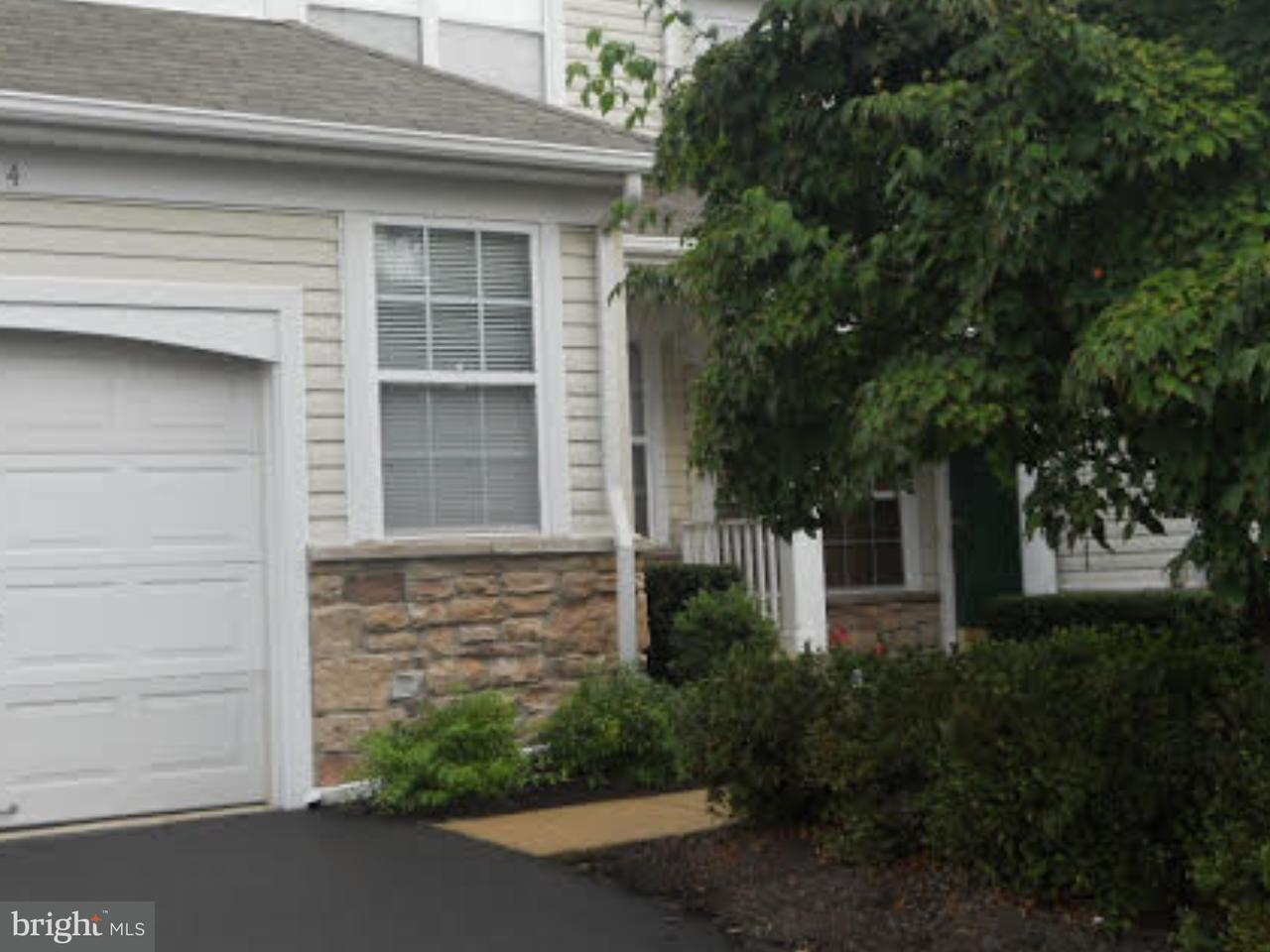 联栋屋 为 出租 在 614 WEYMOUTH CT #45 新希望镇, 宾夕法尼亚州 18938 美国在/周边: Solebury Township