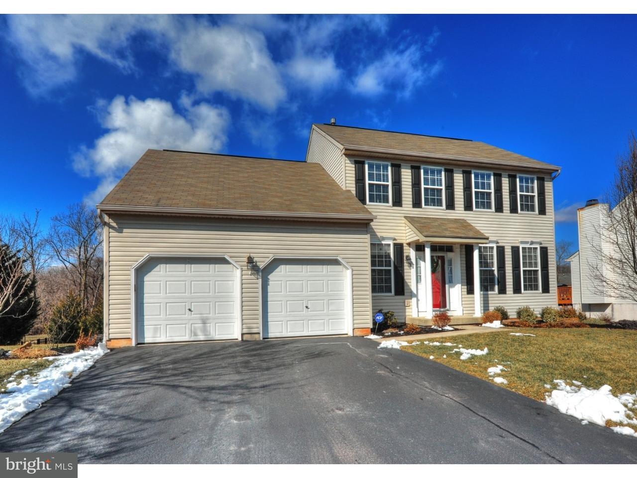 단독 가정 주택 용 매매 에 2426 ROSEWOOD Trail Linfield, 펜실바니아 19468 미국