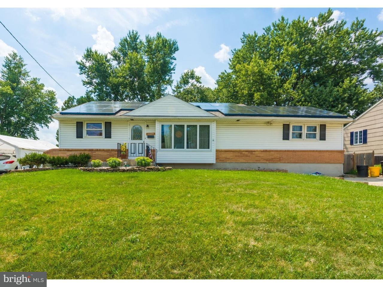Maison unifamiliale pour l Vente à 2409 HARTFORD Drive Glendora, New Jersey 08029 États-Unis