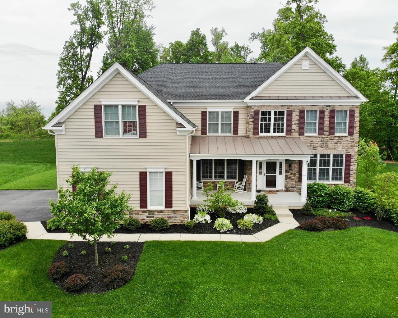 Casa Unifamiliar por un Venta en 3952 POWELL Road Chester Springs, Pennsylvania 19425 Estados Unidos