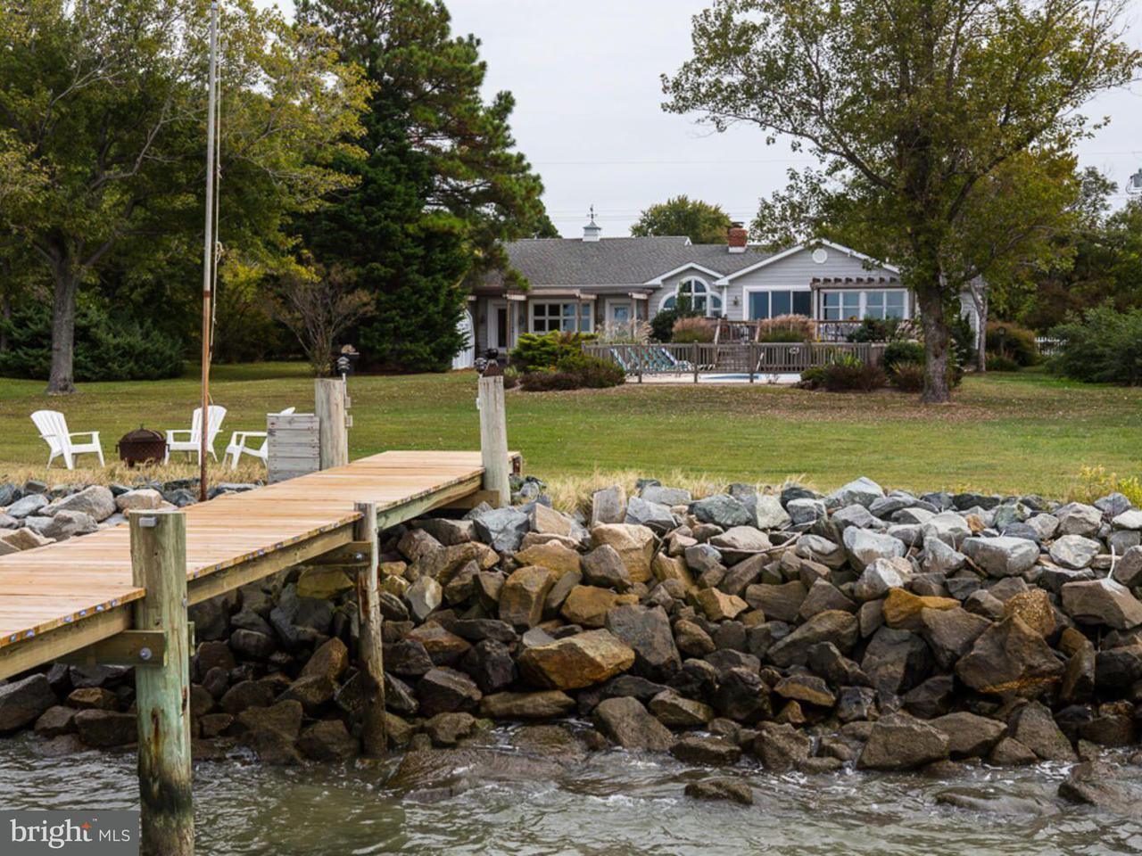 独户住宅 为 销售 在 5800 Tilghman Beach Drive 5800 Tilghman Beach Drive Tilghman, 马里兰州 21671 美国