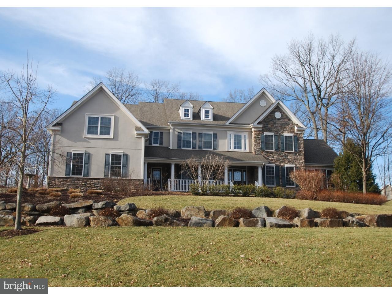 Частный односемейный дом для того Продажа на 1609 CREAGH KNOLL Lane Downingtown, Пенсильвания 19335 Соединенные Штаты