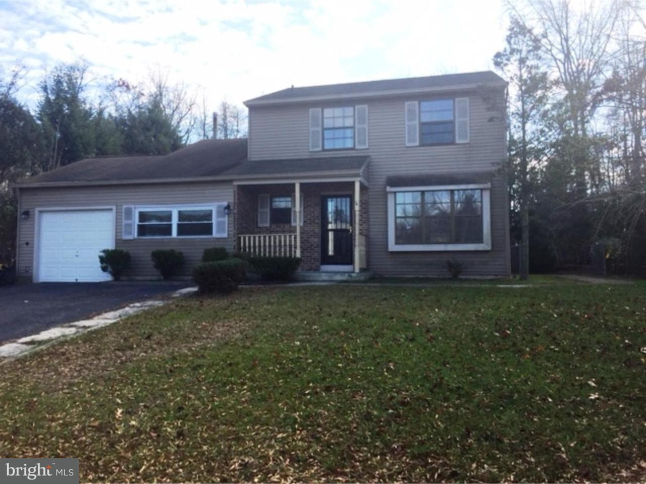 Single Family Home for Rent at 14 HEATHER Drive Sicklerville, New Jersey 08081 United States