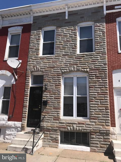 Single Family for Sale at 419 Patterson Park Ave Baltimore, Maryland 21231 United States
