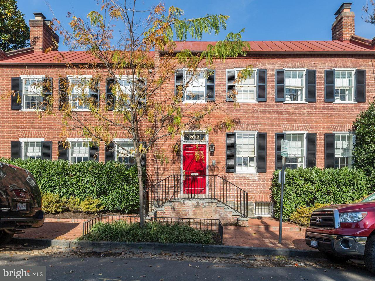 Single Family for Sale at 2613 Dumbarton St NW Washington, District Of Columbia 20007 United States