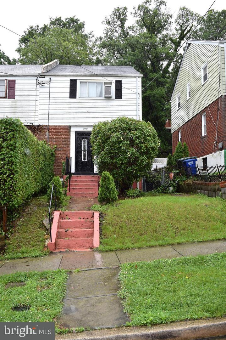 Single Family for Sale at 100 Elmira St SW Washington, District Of Columbia 20032 United States