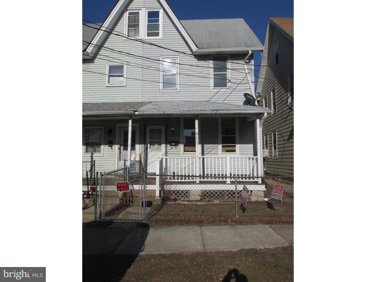 Maison accolée pour l à louer à 229 TAYLOR Street Riverside, New Jersey 08075 États-Unis