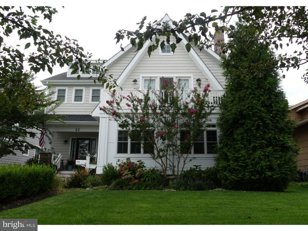Частный односемейный дом для того Продажа на 22 SPRUCE Road Ocean City, Нью-Джерси 08226 Соединенные Штаты