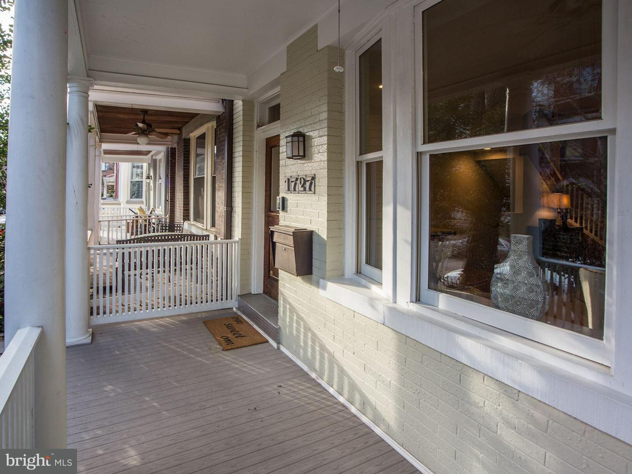 Townhouse for Sale at 1727 Swann St Nw 1727 Swann St Nw Washington, District Of Columbia 20009 United States