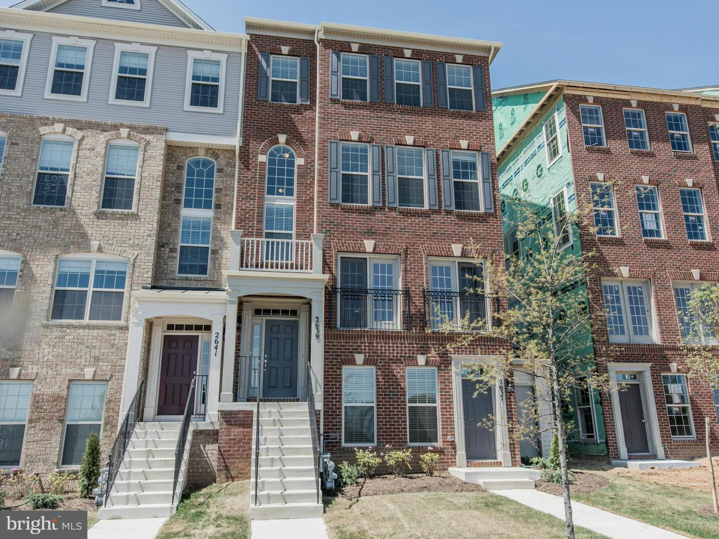 Single Family for Sale at 9415 Geaton Park Pl Glenarden, Maryland 20706 United States