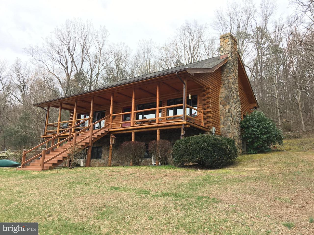 Maison unifamiliale pour l Vente à 1983 Island Ford Road 1983 Island Ford Road Rileyville, Virginia 22650 États-Unis