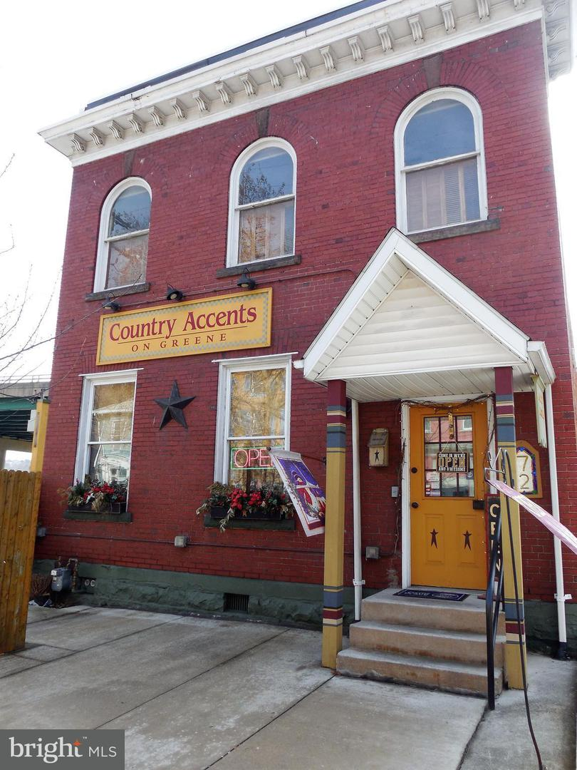 Commercial for Sale at 72 Greene St Cumberland, Maryland 21502 United States
