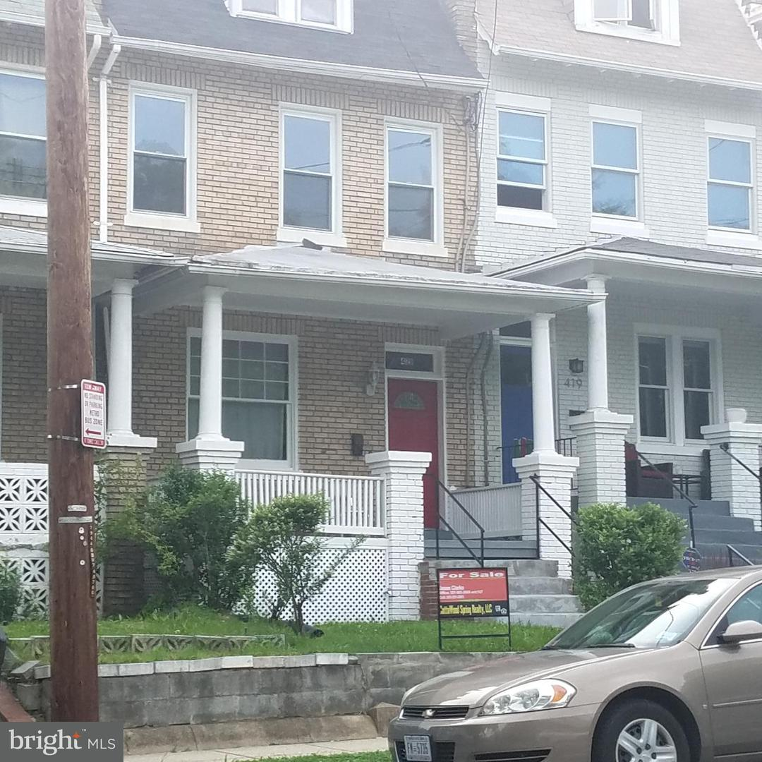 Single Family for Sale at 421 Upshur St NW Washington, District Of Columbia 20011 United States