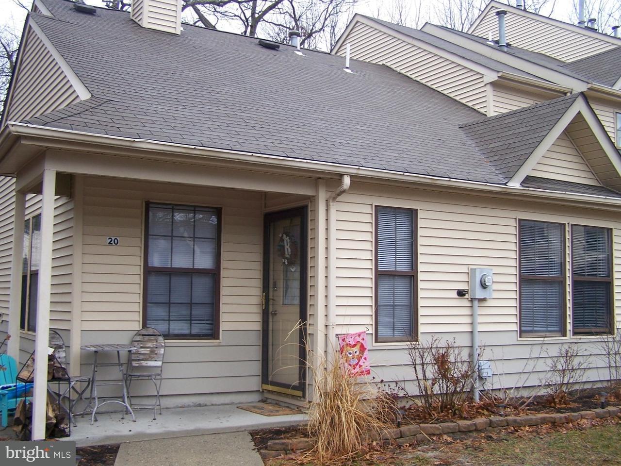 Таунхаус для того Продажа на 20 EUCALYPTUS Court Jackson Township, Нью-Джерси 08527 Соединенные Штаты