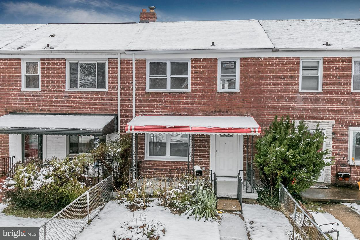 Single Family for Sale at 807 Benninghaus Rd Baltimore, Maryland 21212 United States