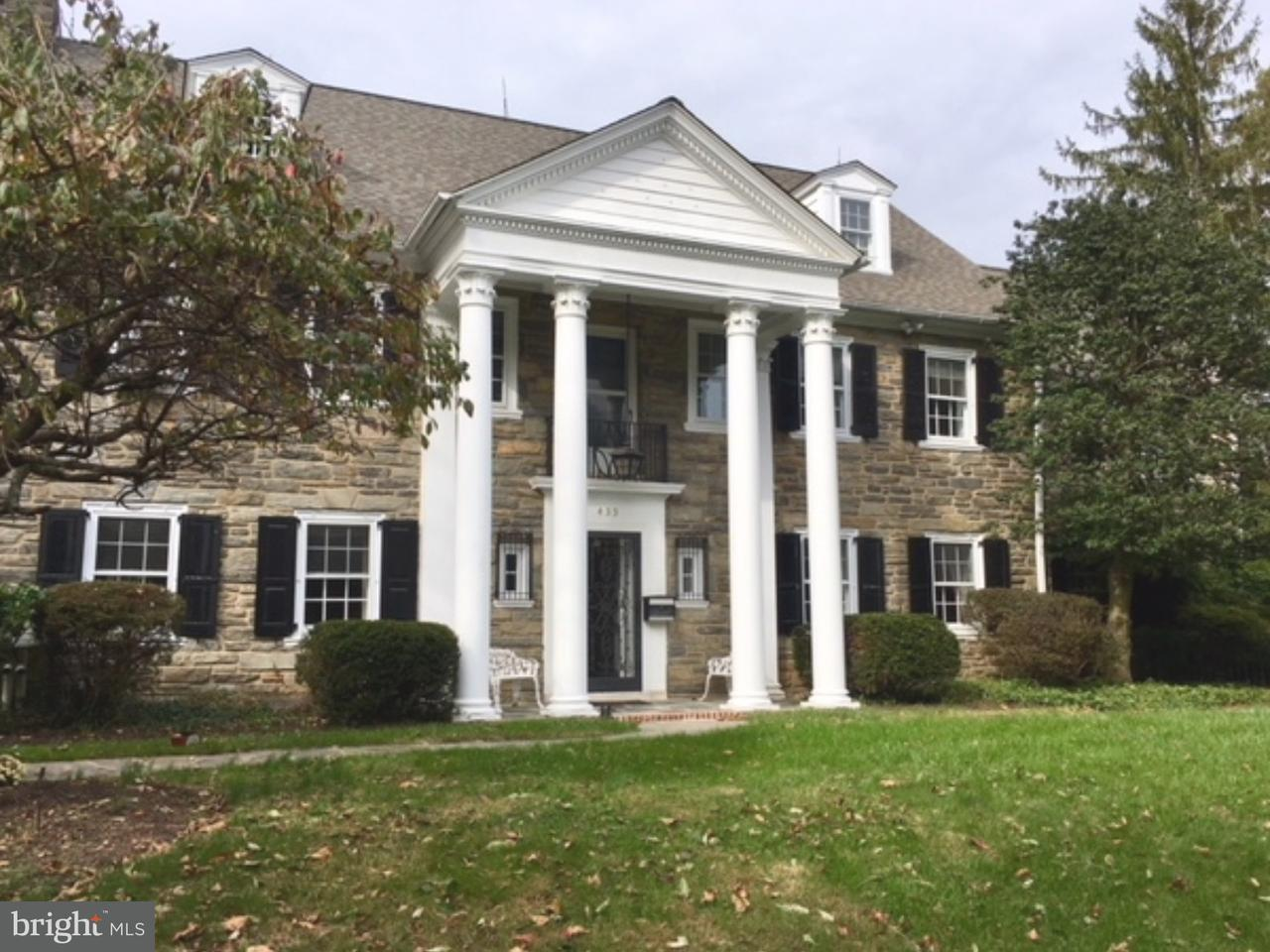 Single Family Home for Sale at 433 WARICK Road Wynnewood, Pennsylvania 19096 United States