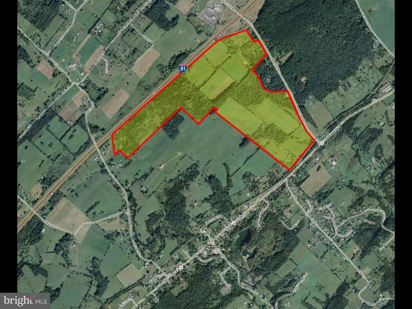 Land for Sale at 725 Mount Olive Rd Toms Brook, Virginia 22660 United States