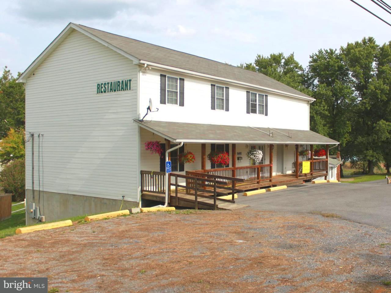 商用 のために 売買 アット 1681 Middleway Pike 1681 Middleway Pike Bunker Hill, ウェストバージニア 25413 アメリカ合衆国