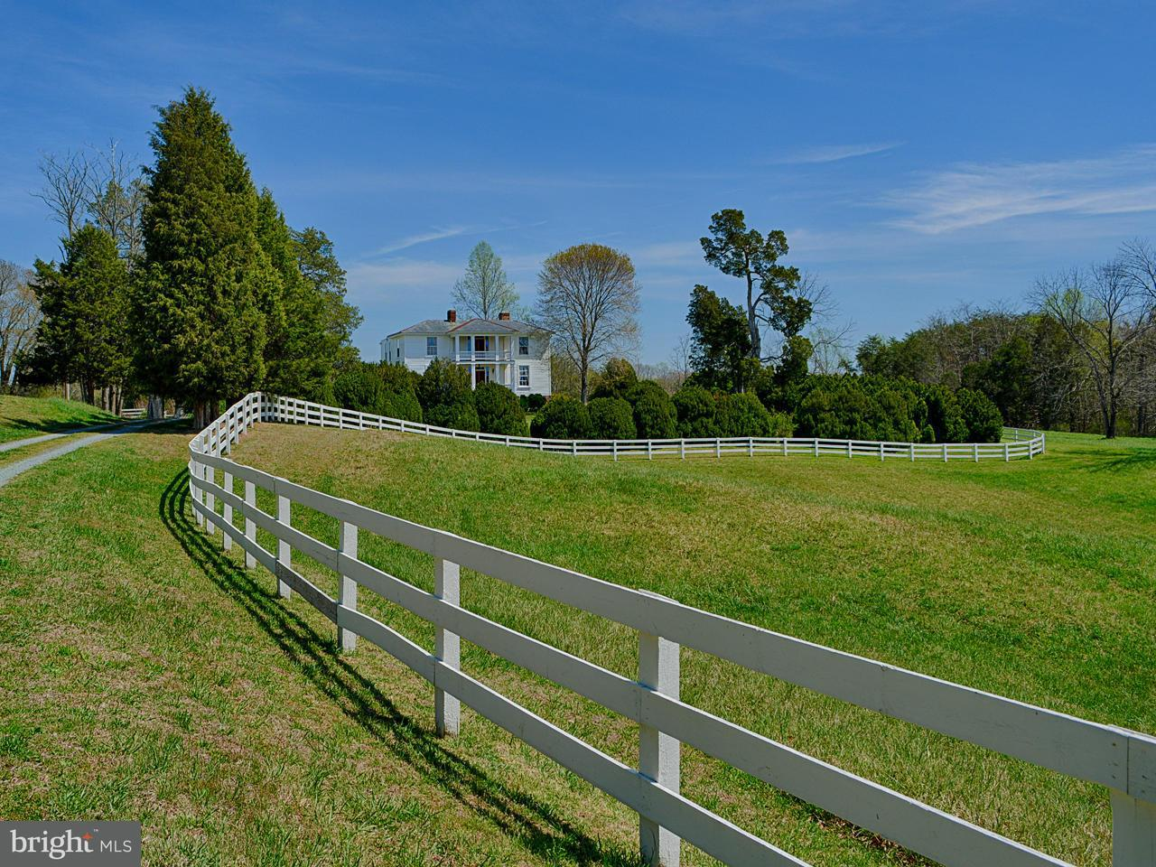 Farm for Sale at 1034 Red Bank Ln Fork Union, Virginia 23055 United States