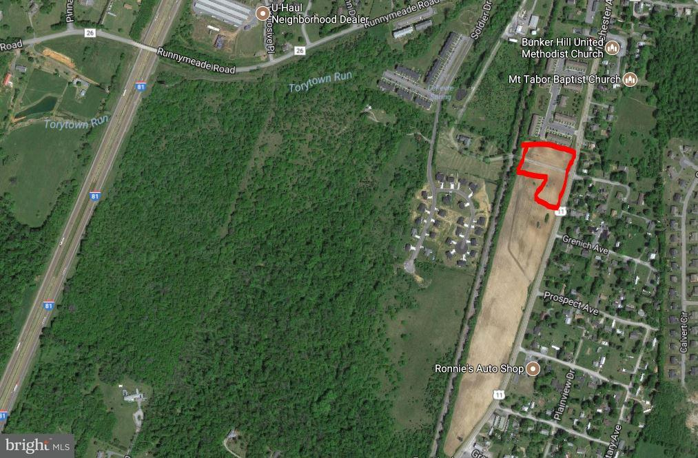 Land for Sale at 0 Winchester Ave Bunker Hill, West Virginia 25413 United States