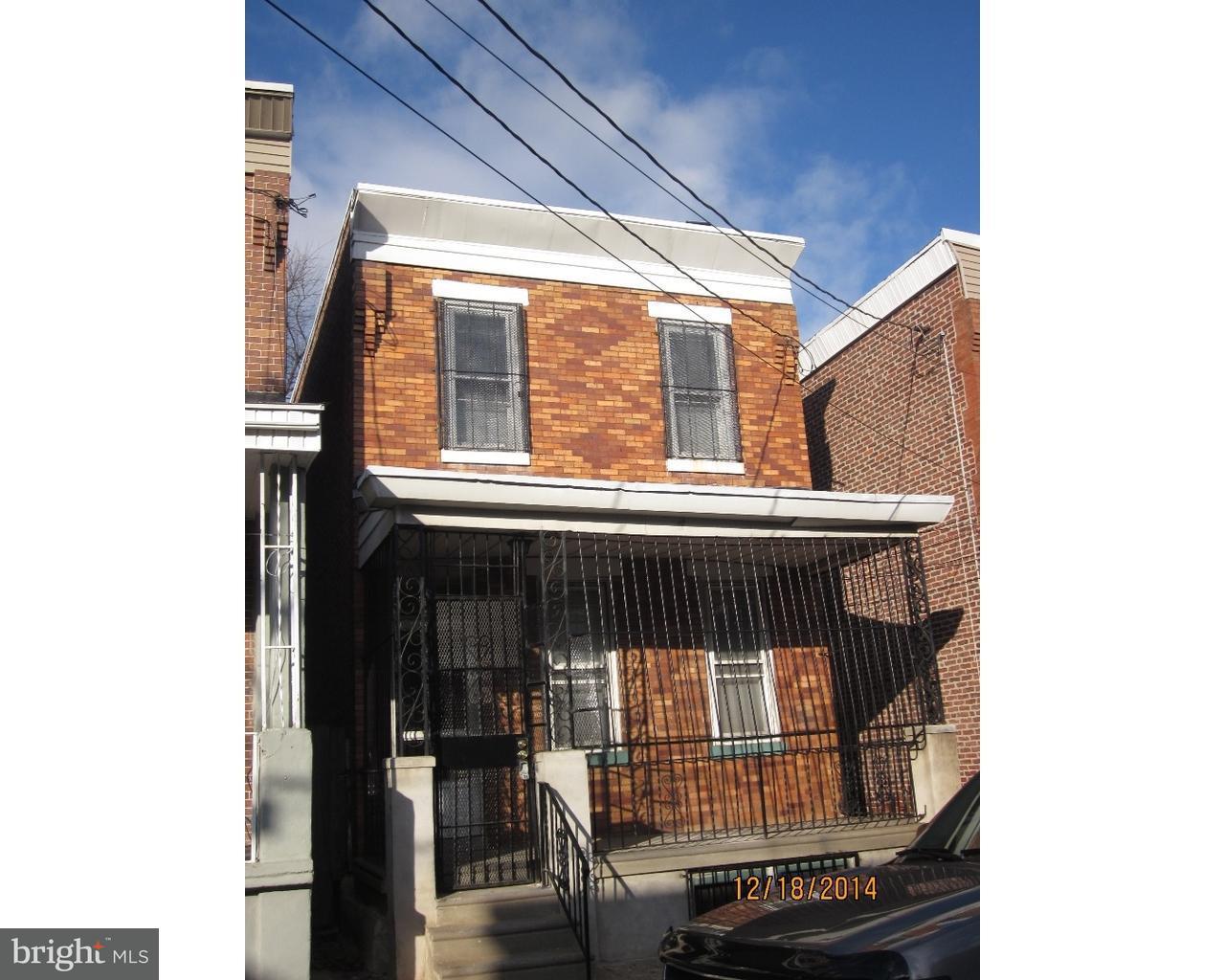 独户住宅 为 出租 在 1217 THURMAN Street Camden, 新泽西州 08104 美国
