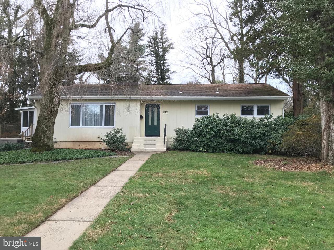Single Family Home for Rent at 105 LONGVIEW Drive Princeton, New Jersey 08540 United StatesMunicipality: Princeton