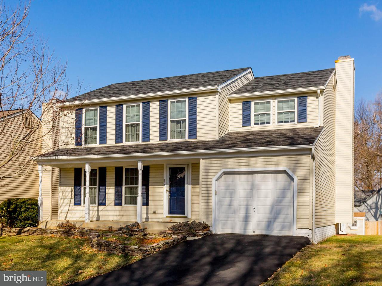 Single Family Home for Sale at 17 Cinnabar Court 17 Cinnabar Court Gaithersburg, Maryland 20879 United States
