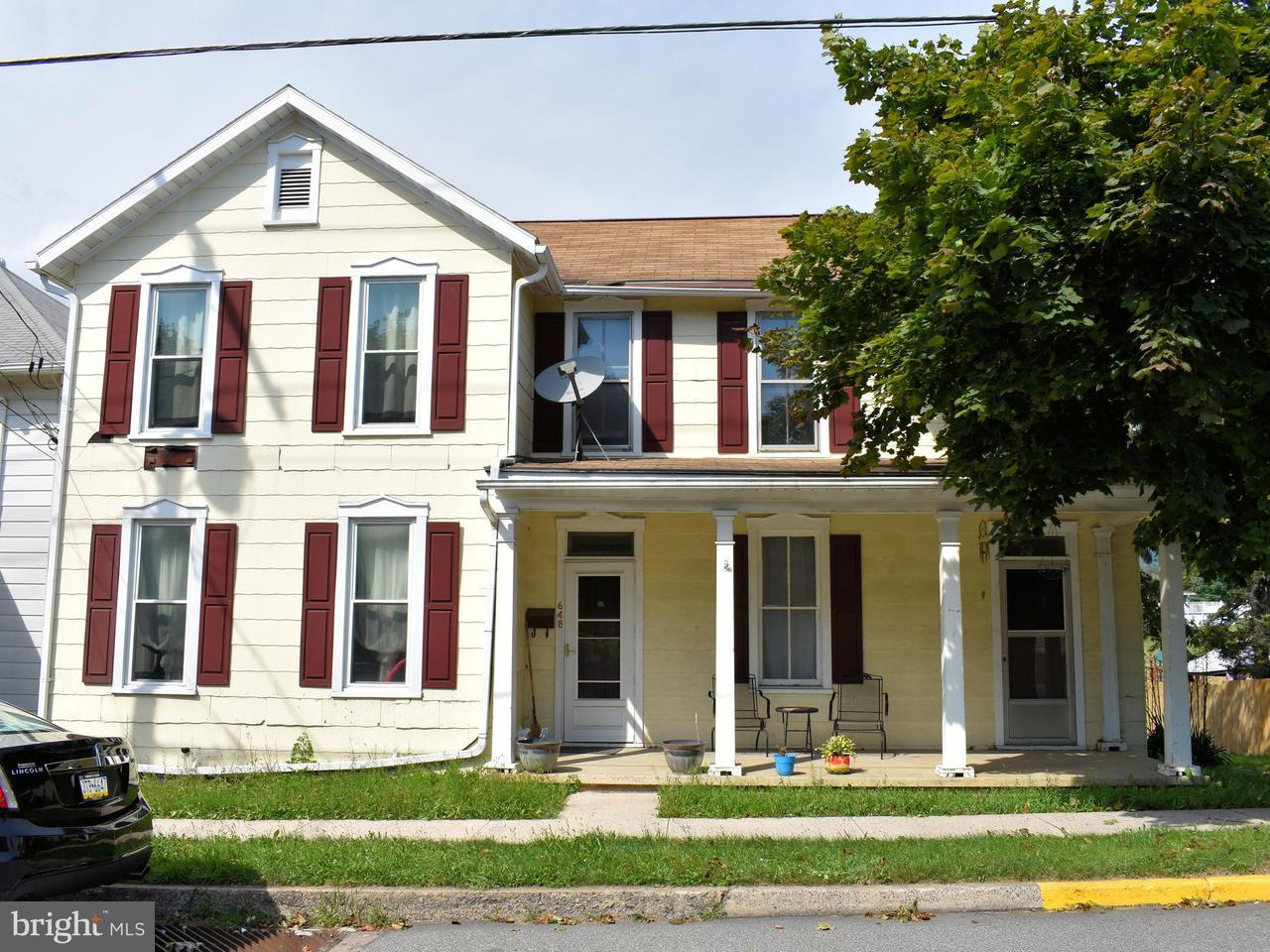 Single Family for Sale at 648 Lincoln Way E Mc Connellsburg, Pennsylvania 17233 United States