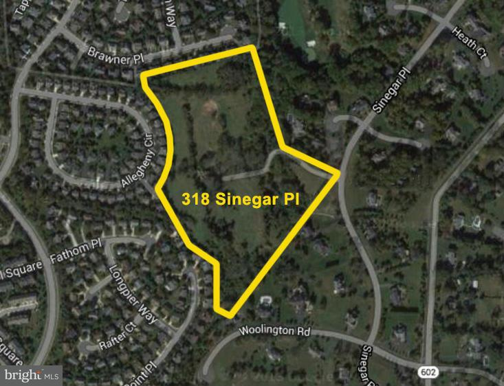 Land for Sale at 318 Sinegar Place 318 Sinegar Place Great Falls, Virginia 22066 United States