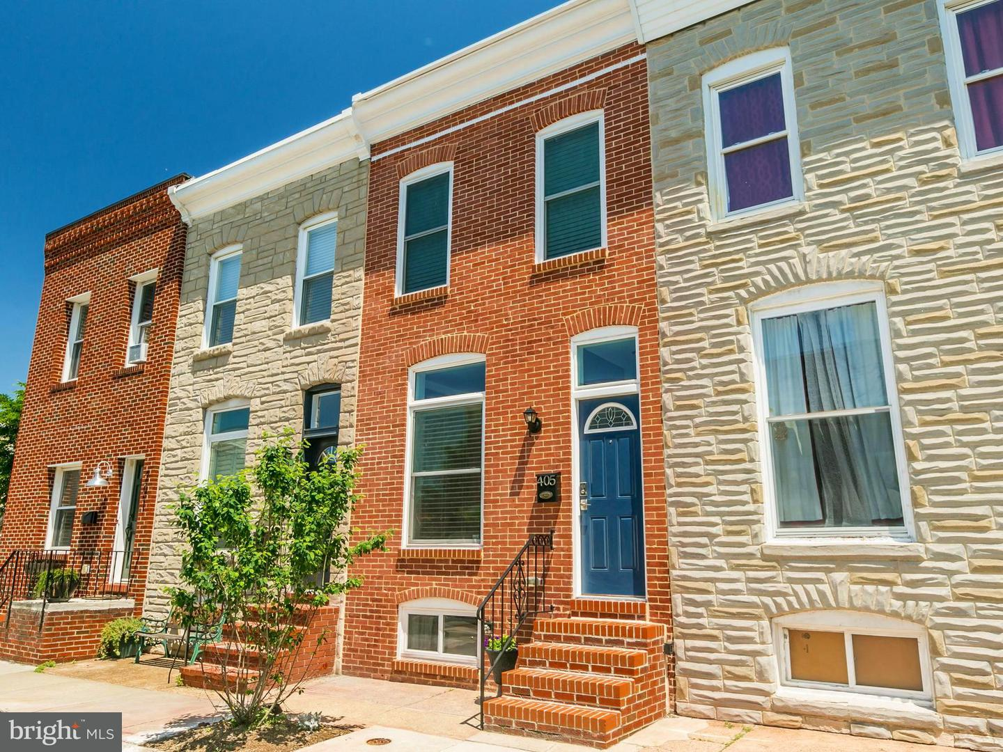 Single Family for Sale at 405 Bouldin St S Baltimore, Maryland 21224 United States