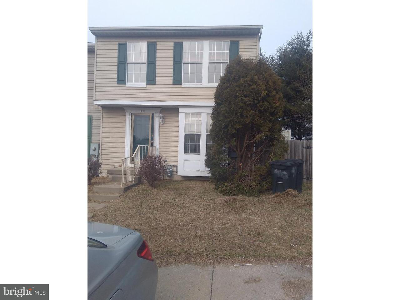 Townhouse for Rent at 40 PARLIAMENT Drive Mount Holly, New Jersey 08060 United States
