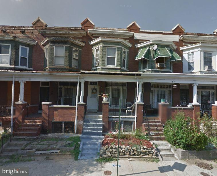 Single Family for Sale at 2910 Ellicott Driveway Baltimore, Maryland 21216 United States