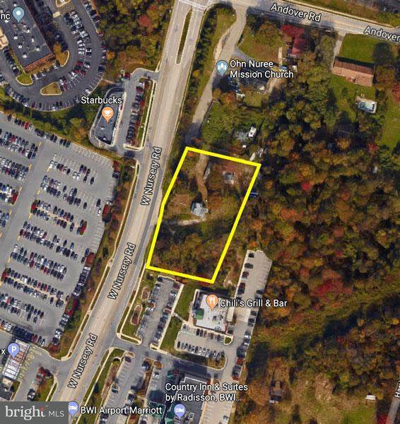 Land for Sale at 1709 Nursery Rd W 1709 Nursery Rd W Linthicum Heights, Maryland 21090 United States