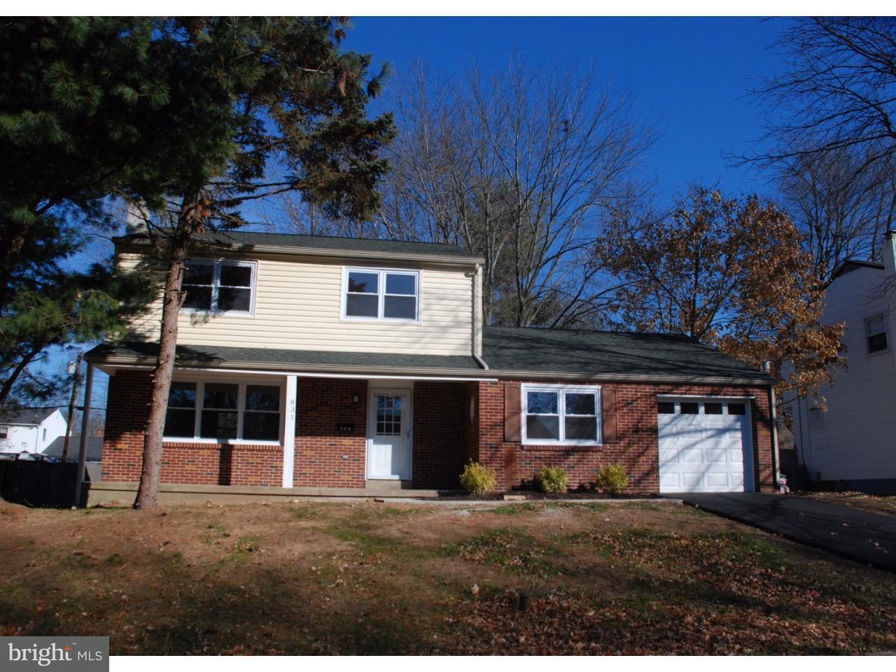 Частный односемейный дом для того Аренда на 831 LOMBARDY Drive Lansdale, Пенсильвания 19446 Соединенные Штаты