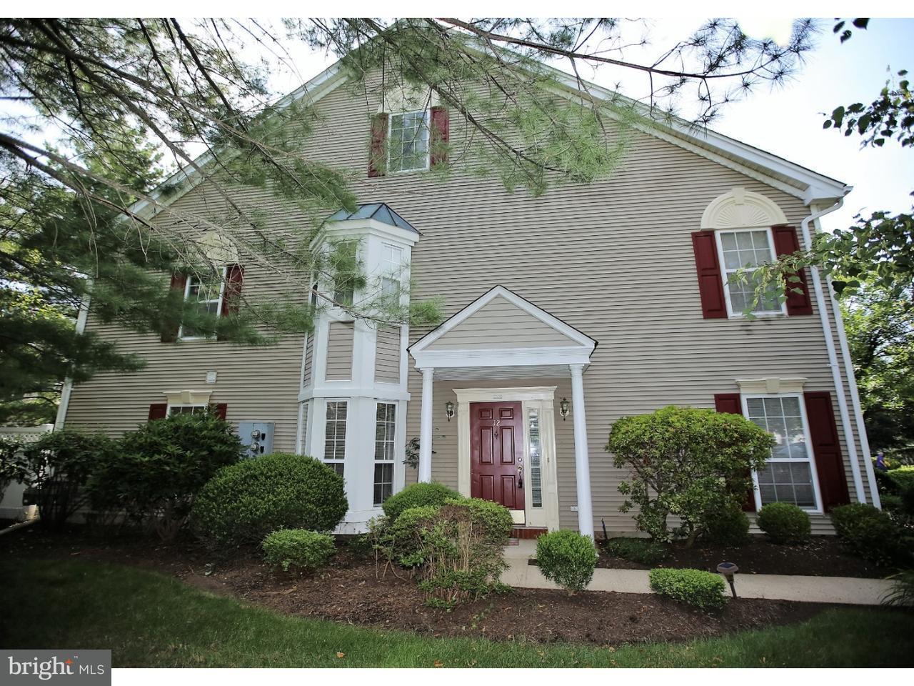Casa unifamiliar adosada (Townhouse) por un Alquiler en 12 LEE Court Plainsboro, Nueva Jersey 08536 Estados UnidosEn/Alrededor: Plainsboro Township