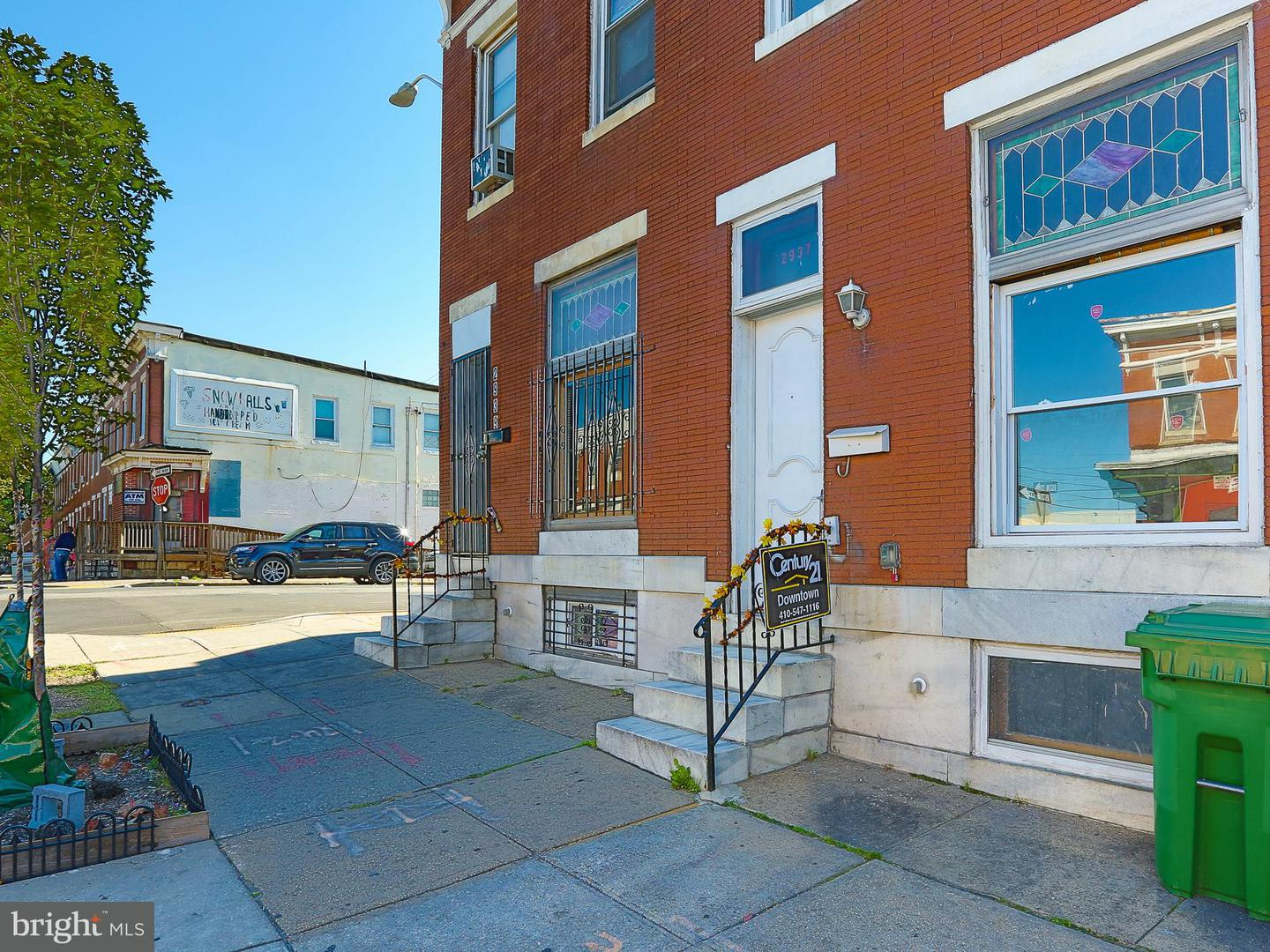 Single Family for Sale at 2937 Monument St E Baltimore, Maryland 21205 United States
