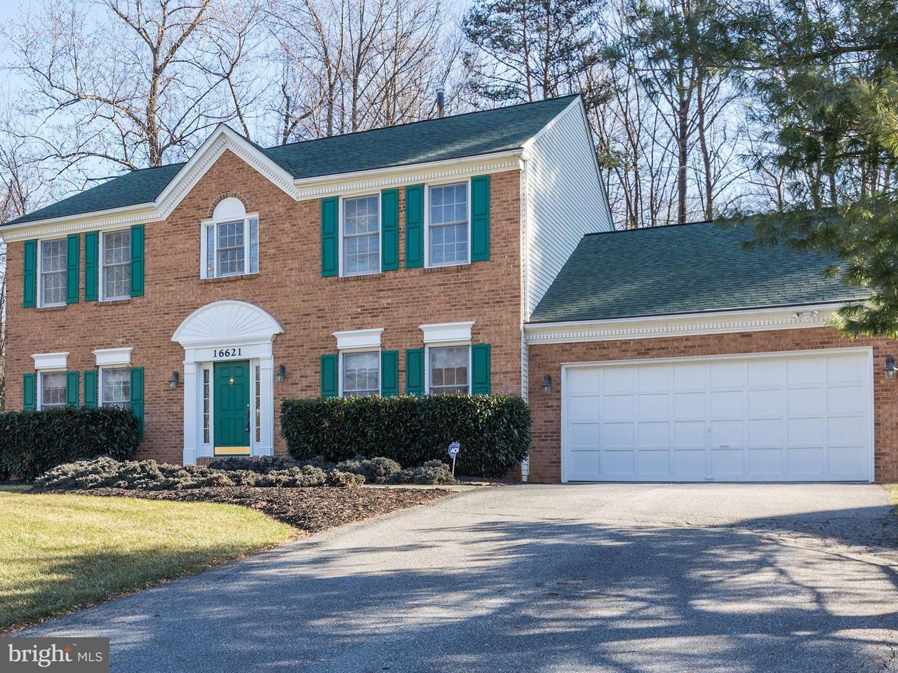 단독 가정 주택 용 매매 에 16621 Music Grove Court 16621 Music Grove Court Rockville, 메릴랜드 20853 미국