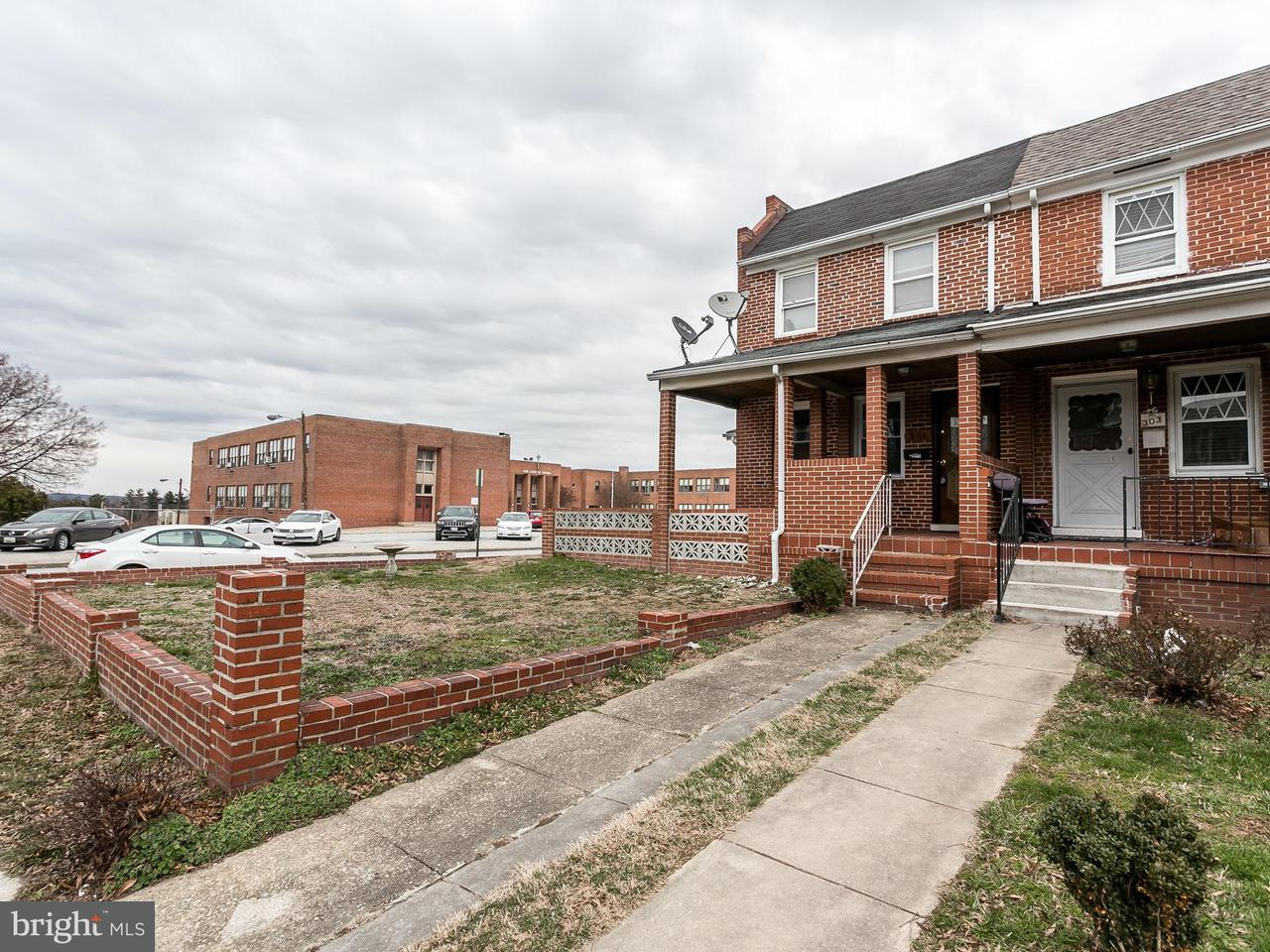 Single Family for Sale at 301 Hornel St Baltimore, Maryland 21224 United States