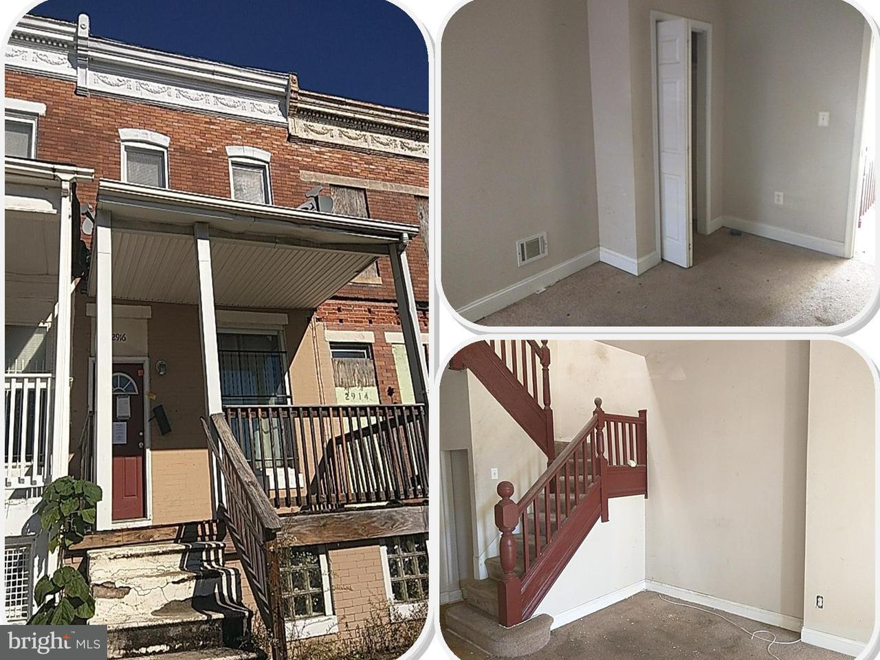 Single Family for Sale at 2916 North Ave Baltimore, Maryland 21216 United States