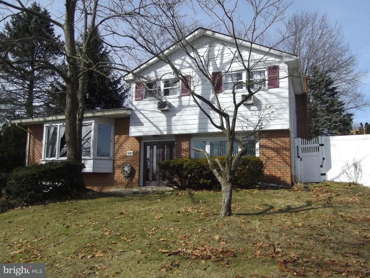 Single Family Home for Sale at 982 BRIDGE Court Catasauqua, Pennsylvania 18032 United States