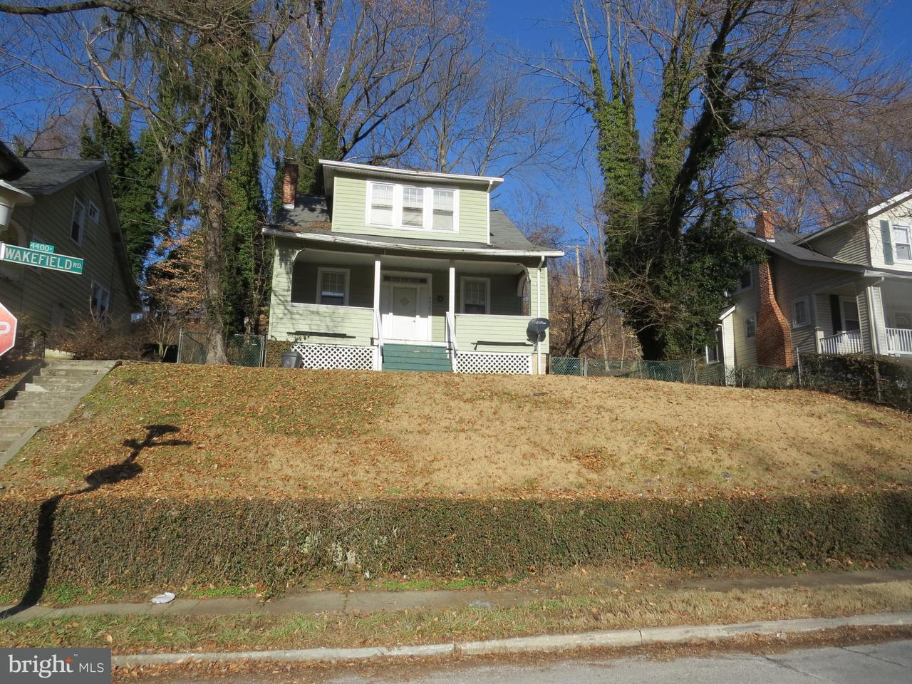 Single Family for Sale at 4412 Wakefield Rd Baltimore, Maryland 21216 United States
