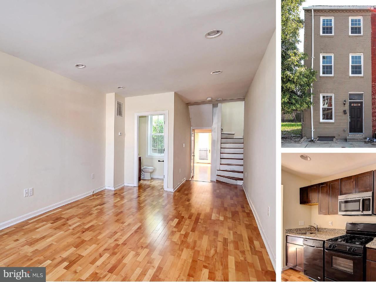 Single Family for Sale at 133 Central Ave S Baltimore, Maryland 21202 United States