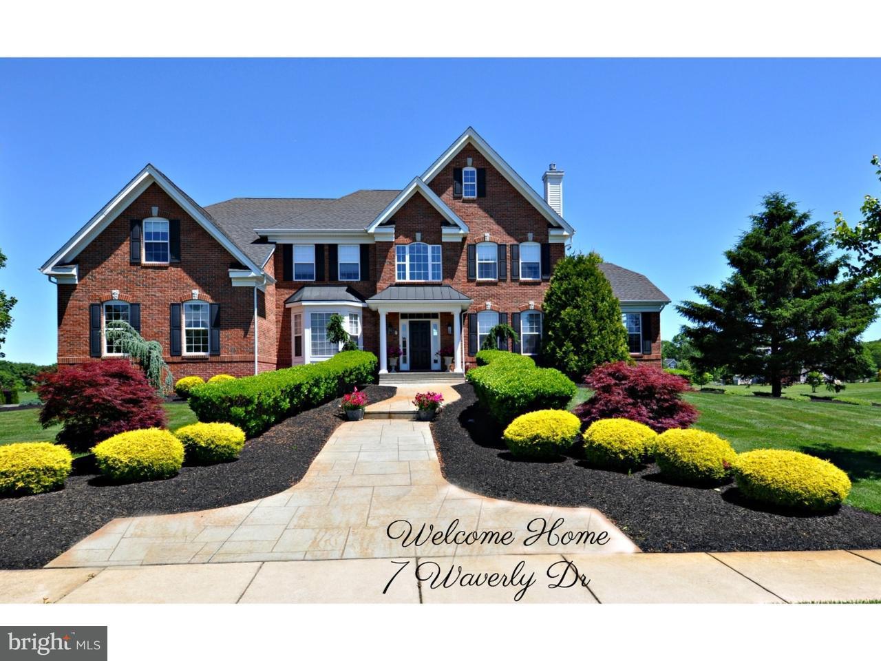 단독 가정 주택 용 매매 에 7 WAVERLY Drive Columbus, 뉴저지 08022 미국