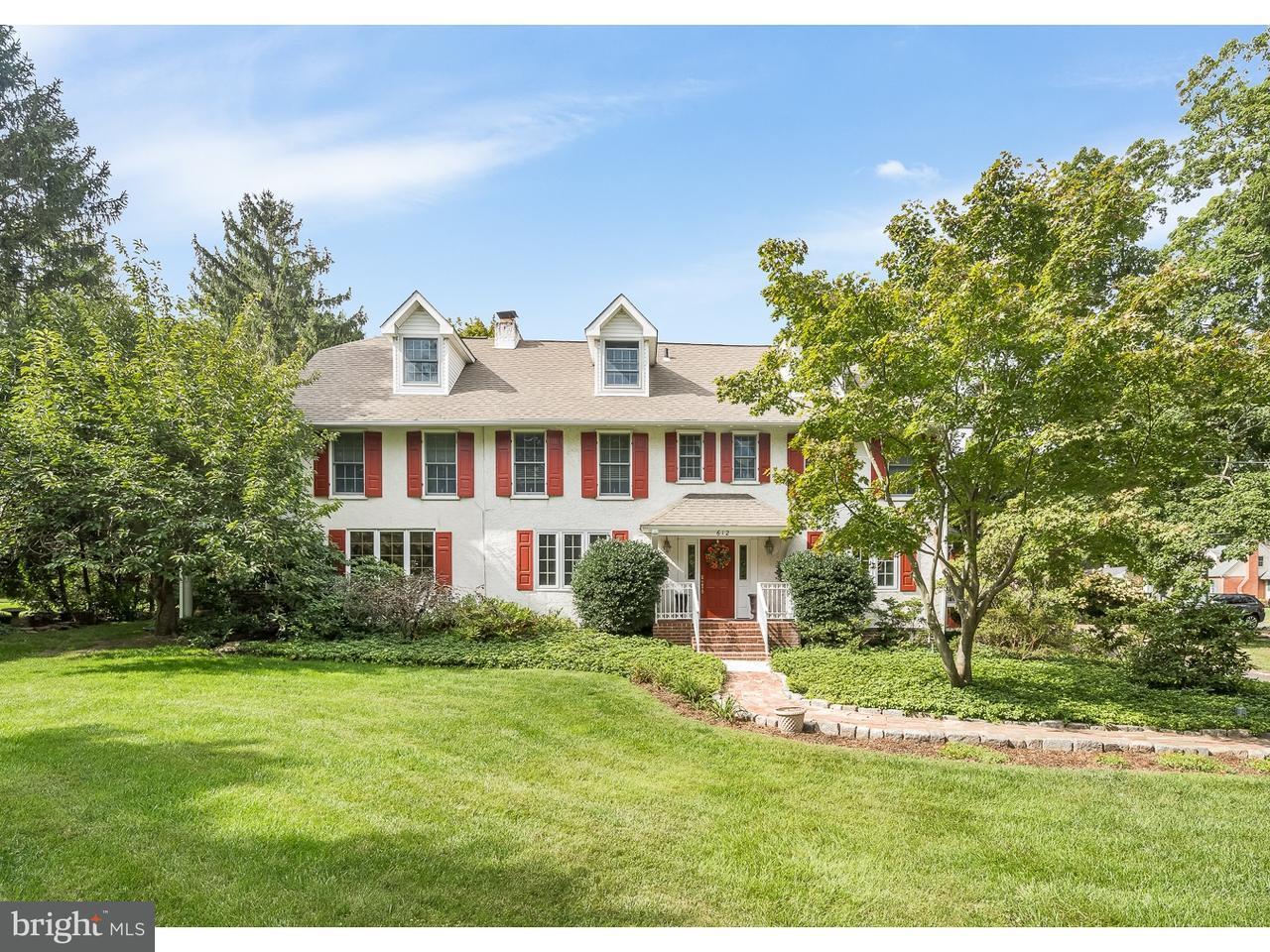 Einfamilienhaus für Verkauf beim 612 WARWICK Road Barrington, New Jersey 08033 Vereinigte Staaten
