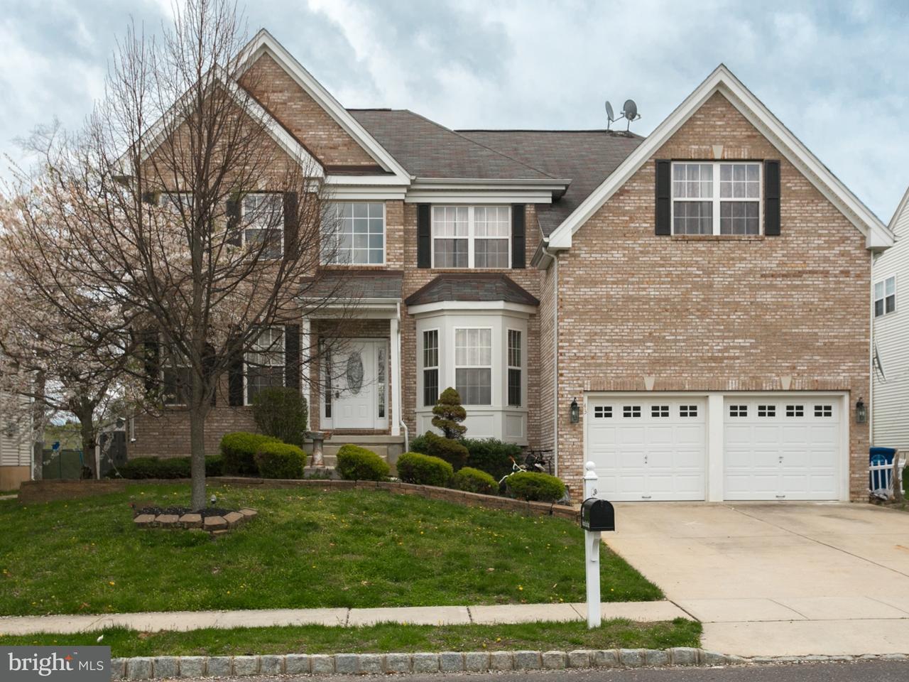 Частный односемейный дом для того Продажа на 43 MEADOW RUN Road Bordentown, Нью-Джерси 08505 Соединенные Штаты