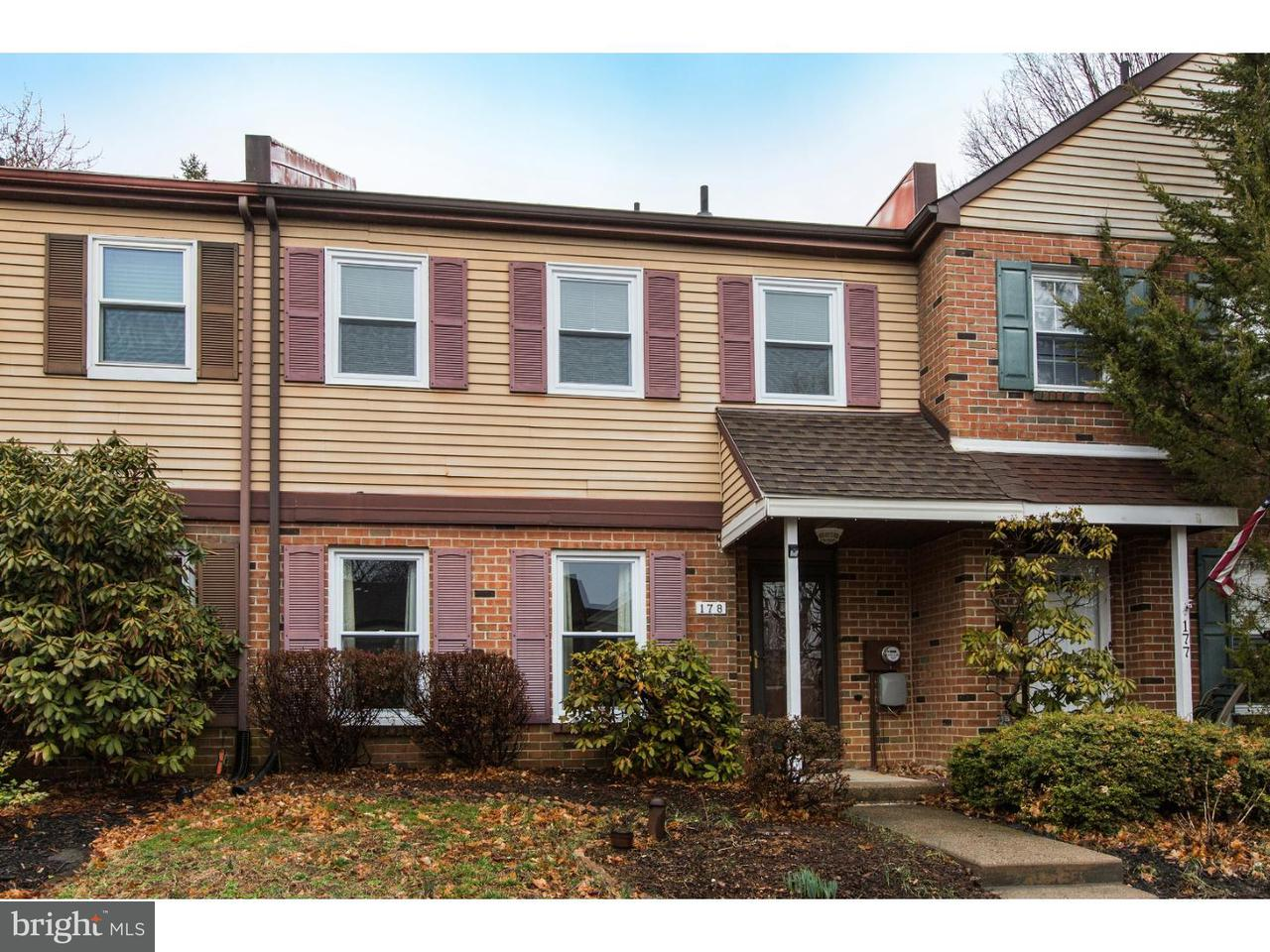 Townhouse for Rent at 178 EATON Court Langhorne, Pennsylvania 19047 United States