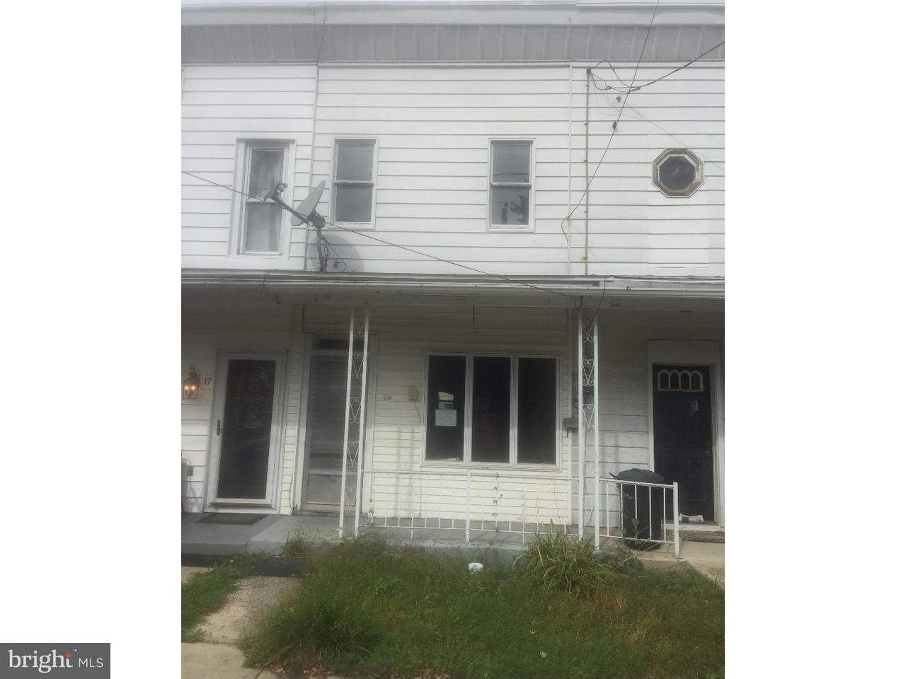 Townhouse for Sale at 19 COAL Street Middleport, Pennsylvania 17953 United States